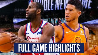 PHILADELPHIA 76ERS vs PHOENIX SUNS - FULL GAME HIGHLIGHTS | 2019-20 NBA Season