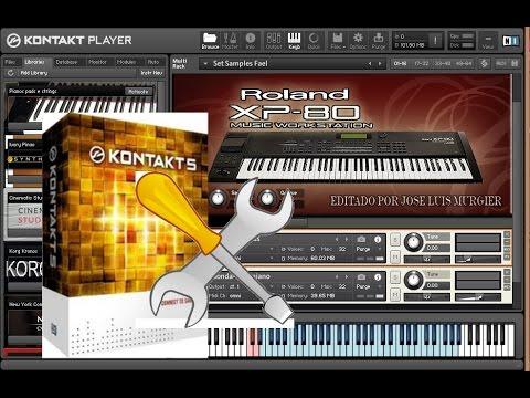 Preparando o Kontakt p/ tocar ao vivo