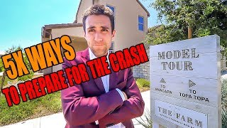 5x Ways to Prep & WHY the Real Estate Market is Crashing