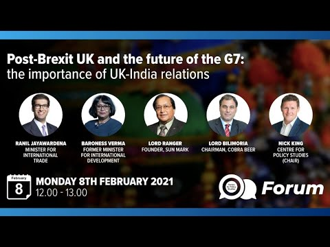 Post-Brexit UK And The Future Of The G7: The Importance Of UK-India Relations