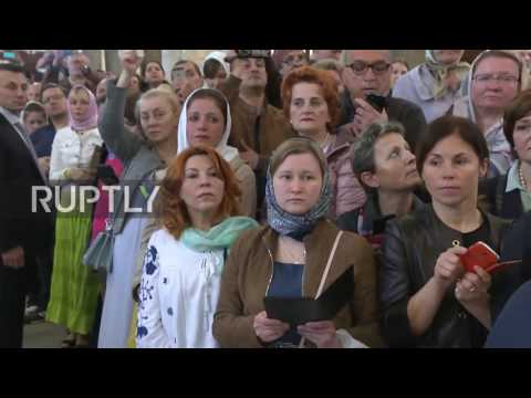 Italy: Relics of St. Nicholas leave Bari in first leg of their 3,000km journey to Moscow