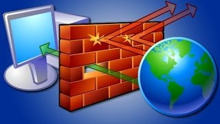 Como Resolver Mensagem de erro no firewall Do windows (Win 8 e Win 7)