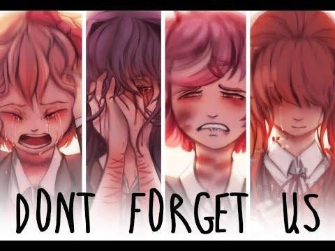 Don't forget us (Doki Doki Literature Club Fanart)