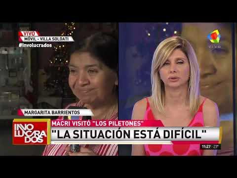 """Margarita Barrientos tras la visita de Macri: """"Para Navidad esperamos 2700 personas"""""""