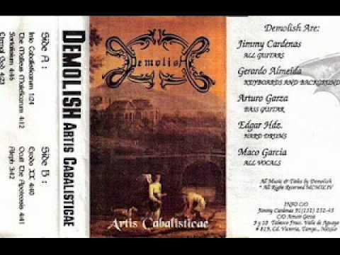 "DEMOLISH ""Artis Cabalisticae"""