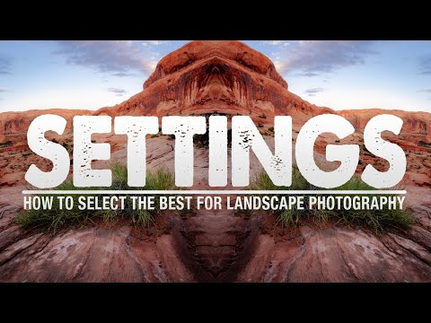The BEST SETTINGS for Landscape Photography thumbnail