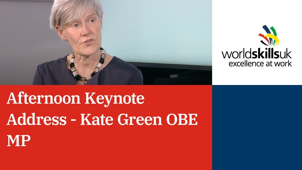 Afternoon Keynote Address - Kate Green OBE MP