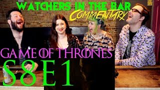 "Watchers in the Bar: Game of Thrones S8E1 ""Winterfell"" Recap!!"