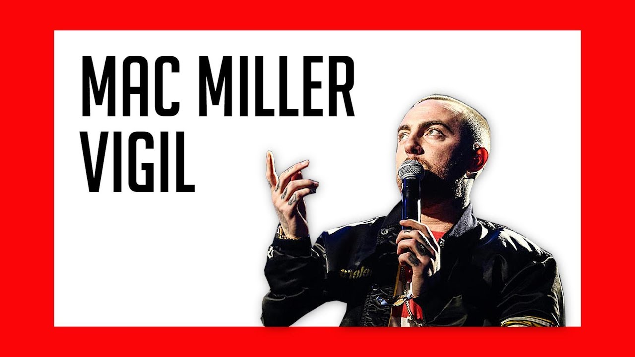 Fans Pay Tribute to Mac Miller at Vigil