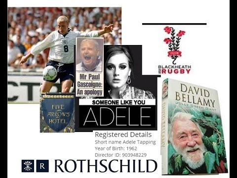 SINS Rothschild Bellamy Gascoigne Adele & TAPPIN Shares and Stocks