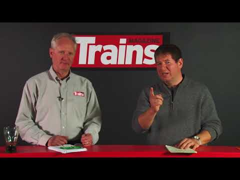 Trains News Wire video for May 4