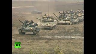 El Ejército de Rusia realiza ejercicios militares al suroeste del país