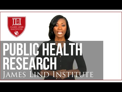 Public Health Research - James Lind Institute