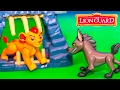The Lion Guard Janja Hyena Hideout Toy Unboxing with Kion and Bunga