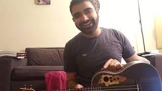 baritone ukulele unboxing - review (caramel cb500)