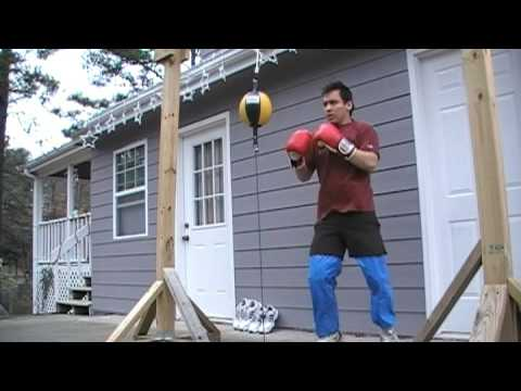 Boxing Training Double End Bag At Home