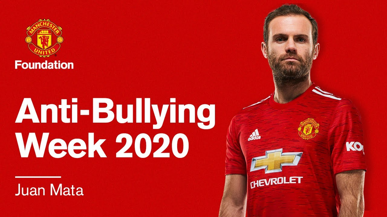 Juan Mata's Anti-Bullying-Week Advice
