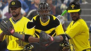 JABARI BLASH PLAYS EVERY POSITION IN ONE GAME - MLB 17 The Show Diamond Dynasty
