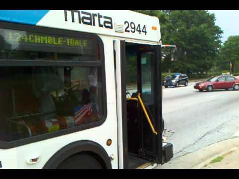 Bitch u ride the marta bus