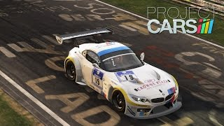 Project CARS [PS4] - BMW Z4 GT3 @ Nurburgring Combined Gameplay