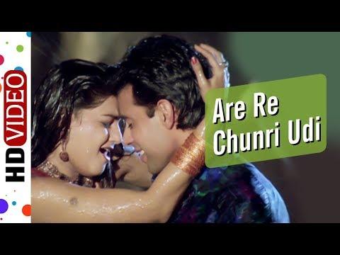 are-re-chunri-udi-sajan-|-krantiveer-(1994)-|-mamta-kulkarni-|-atul-agnihotri-|-90's-romantic-song