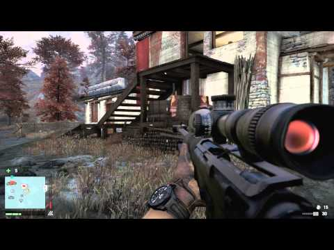 Far Cry 4 - Outpost Takeover - No Scope Sniper (AMR)