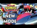 TEAM SONIC RACING - NEW MODE REVEALED & CHARACTER SWITCHING NEWS