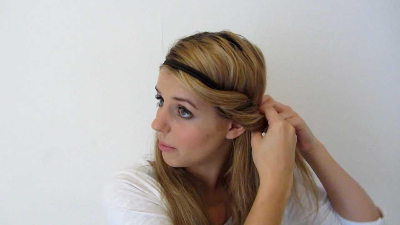 Haarbandfrisur Rolltechnik Frisuren Freitag Lovethecosmetics
