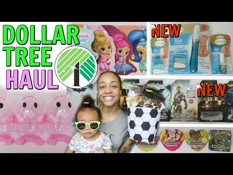 DOLLAR TREE HAUL! AMOPE PEDI! EASTER BASKET GIFT IDEAS AND MORE!