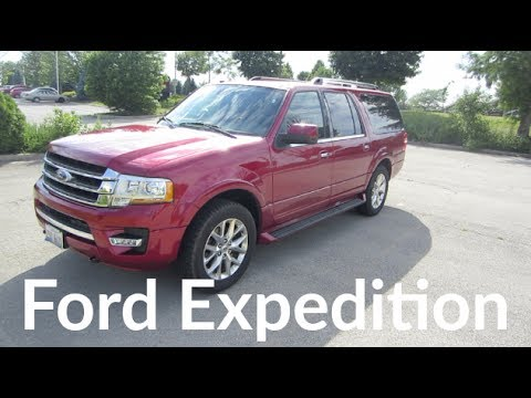 2017 Ford Expedition Limited EL SUV 3.5L V6 with EcoBoost | Full Enterprise Rental Car Review