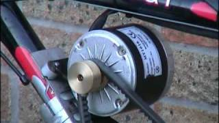 Upgraded Home Made Hybrid Electric and pedal assisted Bicycle. Using a 350w 24 volt dc motor