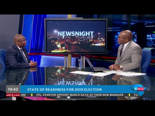 State of readiness for 2019 election