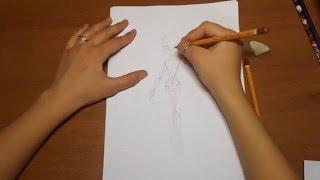 Как рисовать Монстер Хай(Monster High) с нуля(Всем привет! В этом видео-уроке вы научитесь как рисовать Монстер Хай с нуля. Тоесть, придумывать свои позы,..., 2016-02-03T23:14:39.000Z)