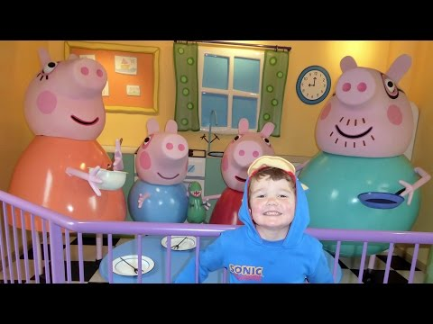 Peppa Pig World  ALL RIDES AND ATTRACTIONS at Paultons Theme Park