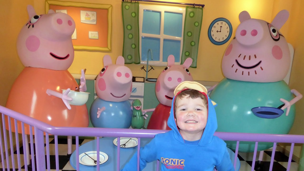 Peppa Pig World All Rides And Attractions At Paultons Theme Park Youtube