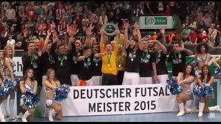Hamburg Panthers - Holzpfosten Schwerte 05 (Finale, DFB-Futsal-Cup 2015) - Spielszenen | ELBKICK.TV