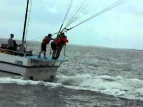 Parasail Survival Training At Pennsicola Florida Youtube