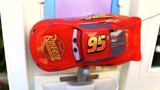 Disney Cars Toy Lightning McQueen Remote Control Thomas and Friends Toy Trains