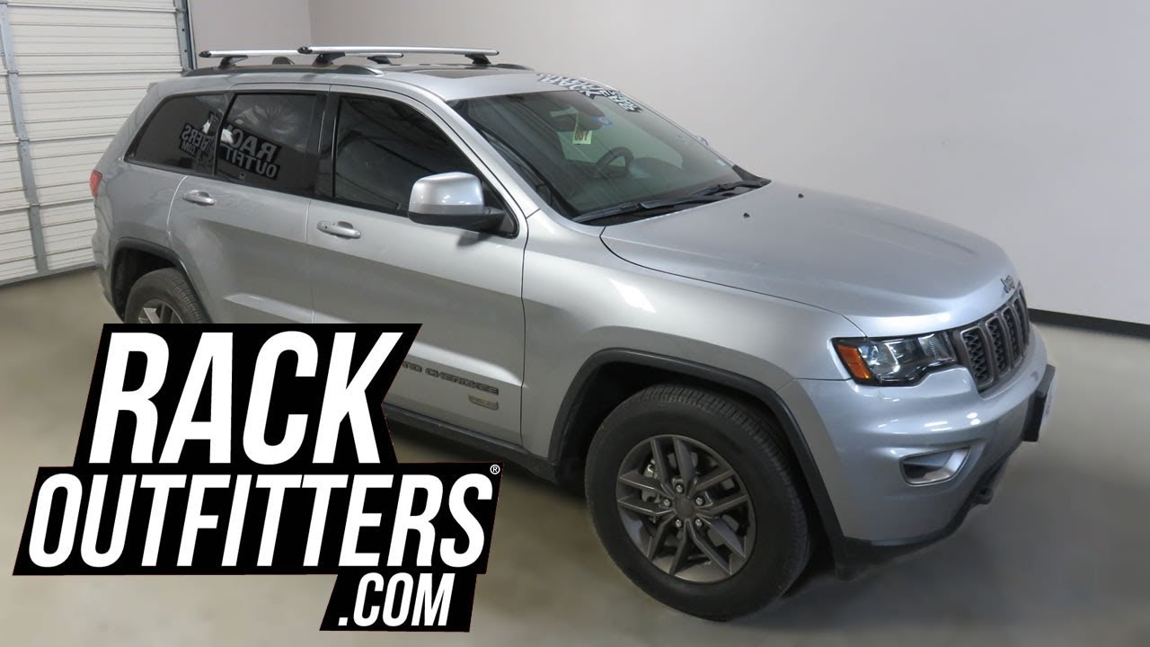 Jeep Grand Cherokee With Rhino Rack Vortex Rcl Roof Rack Crossbars Youtube