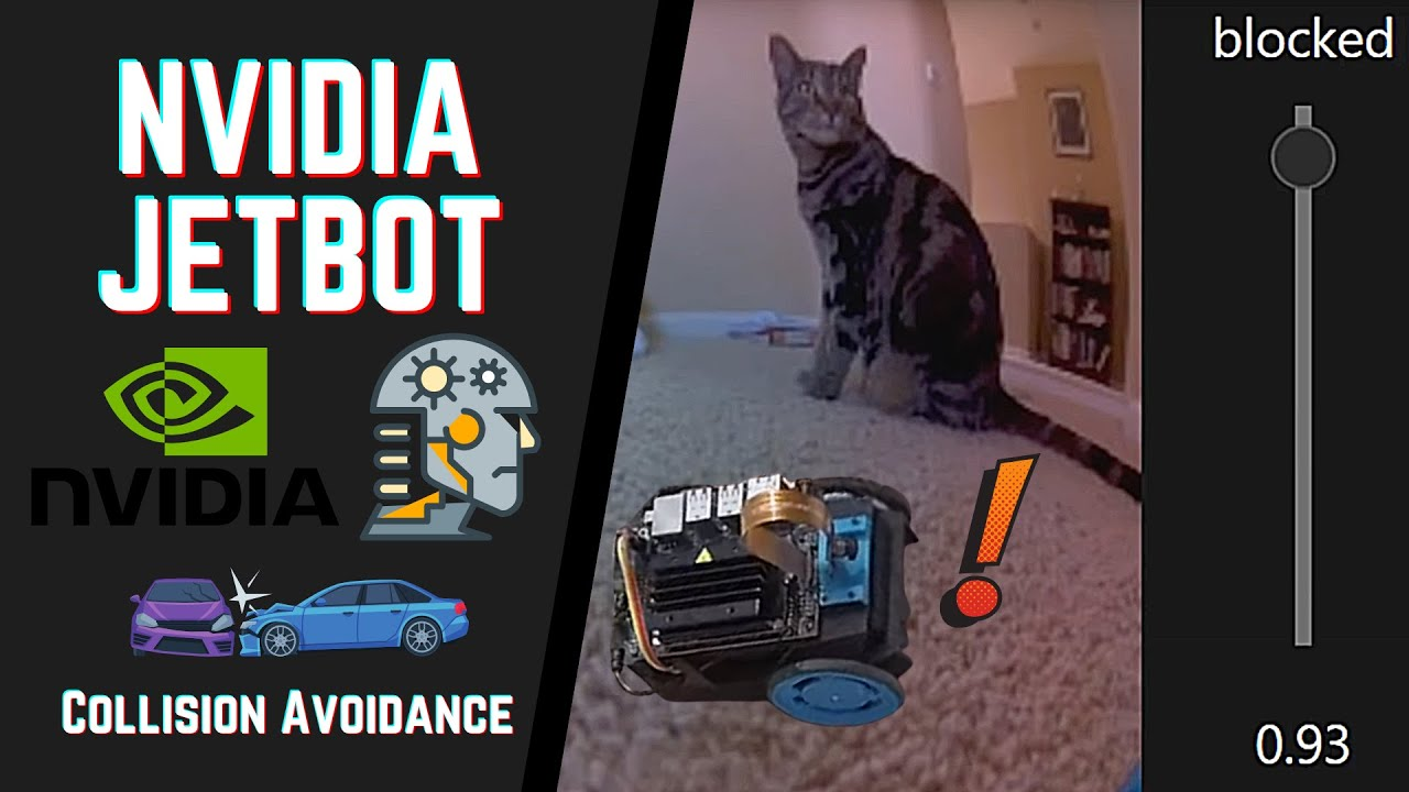NVIDIA Jetbot Neural Network Based Collision Avoidance Demo