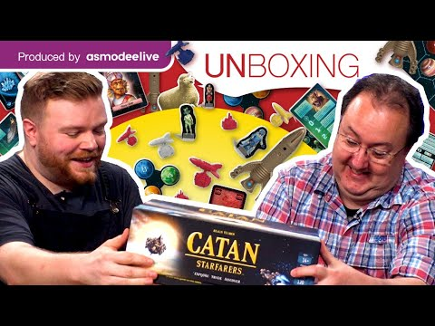 Download Unboxing CATAN – Starfarers with AsmodeeLive