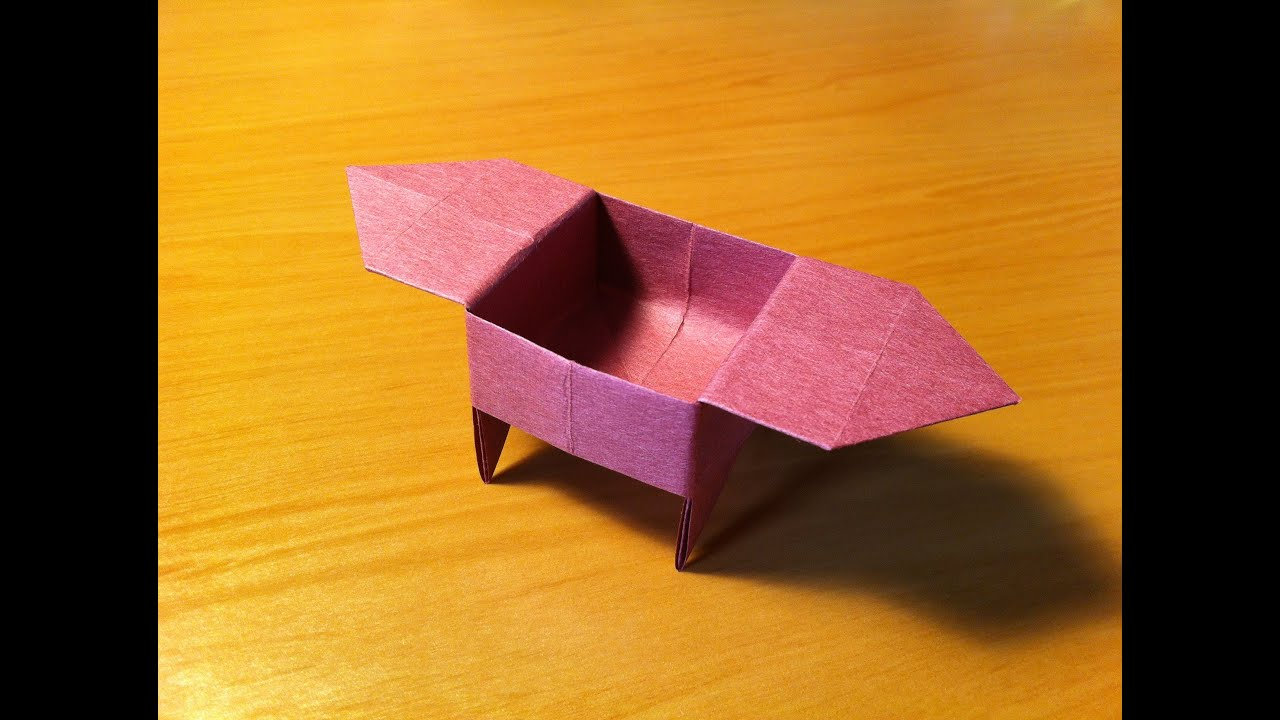How To Make An Origami Candy Dish
