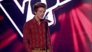 Tyler James FULL Blind Audition- Sitting on the Dock of the Bay