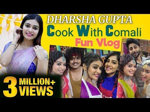 Cook With Comali Dharsha Gupta Fun Vlog   Sivaangi   Pugazh   Aswin   Vijay Tv