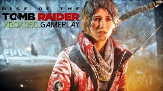 Rise of the Tomb Raider Gameplay (XBOX 360 HD)