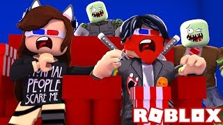 A DAY IN THE CINE SALE MAL - ROBLOX 😱