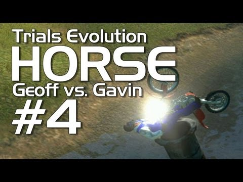 Trials Evolution - Achievement HORSE #4! (Geoff vs. Gavin)