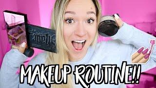 EVERYDAY MAKEUP ROUTINE!! Vlogmas Day 12!!