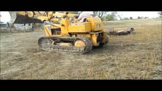 1989 John Deere 450 track loader for sale | sold at auction December 17, 2015