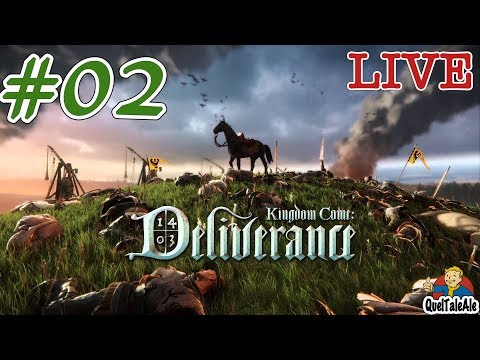Kingdom Come: Deliverance - Gameplay ITA - #02 - Occhio che ci arrestano
